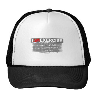 I am exercise mesh hats