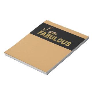 I am Fabulous Notepad
