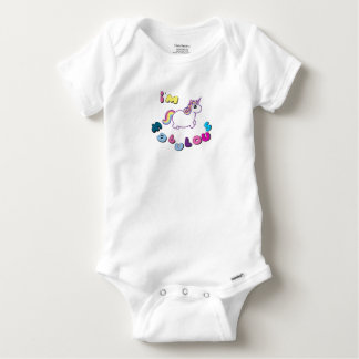 i am fabulous unicorn baby onesie