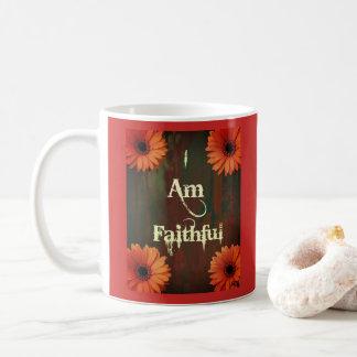 "I ""AM"" Faithful Coffee Mug"