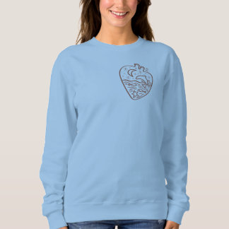 I am fond of water sweatshirt