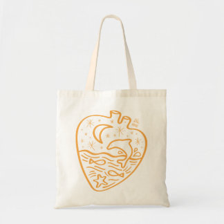 I am fond of water tote bag