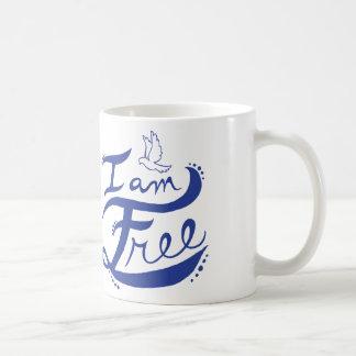 """I Am Free"" Mug"