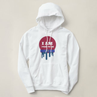 I AM FREE TO BE ME HOODIE