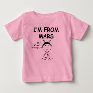 I Am From Mars Baby T-Shirt