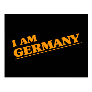 I am Germany Postcard