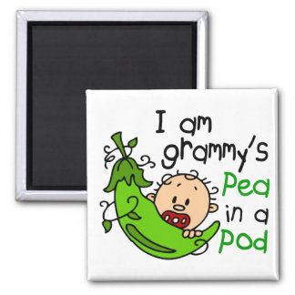 I am Grammy's Pea In A Pod Magnet