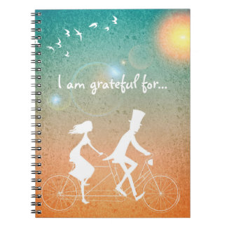 I am grateful for... Journal w/Tandem Couple