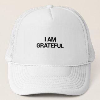 I am grateful trucker hat
