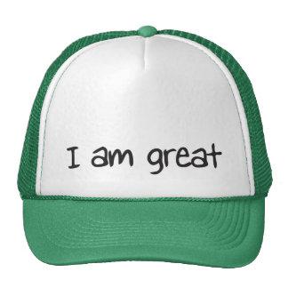 I am great trucker hat