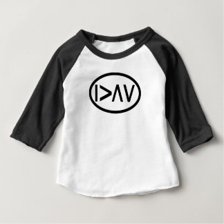 I am greater than my highs and lows. baby T-Shirt