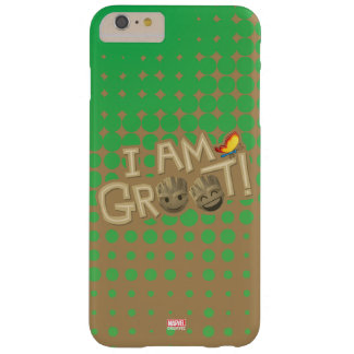 """I Am Groot"" Emoji Barely There iPhone 6 Plus Case"
