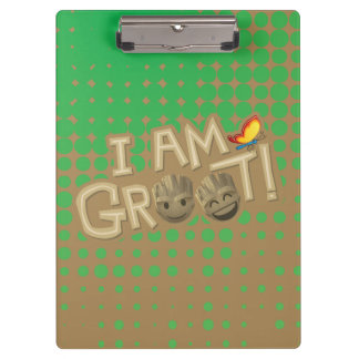 """I Am Groot"" Emoji Clipboard"