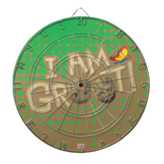 """I Am Groot"" Emoji Dart Boards"