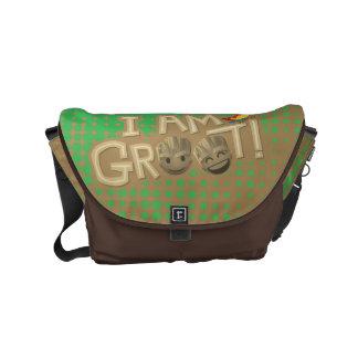 """""""I Am Groot"""" Emoji Messenger Bag"""
