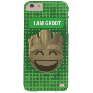 """I Am Groot"" Text Emoji Barely There iPhone 6 Plus Case"