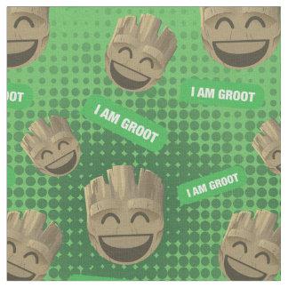 """I Am Groot"" Text Emoji Fabric"