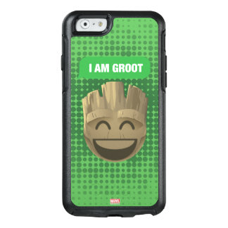 """I Am Groot"" Text Emoji OtterBox iPhone 6/6s Case"