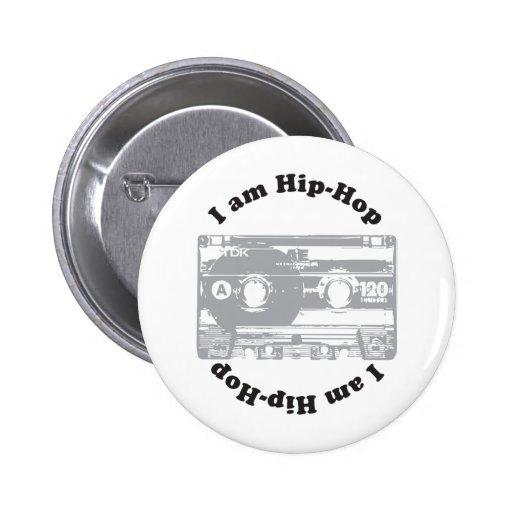 I Am Hip-Hop Buttons