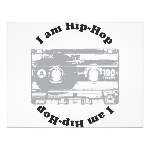 I Am Hip-Hop Personalized Announcements