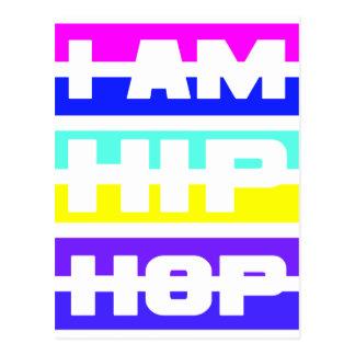 I Am Hip Hop postcard