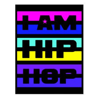 I Am Hip Hop postcard - customize