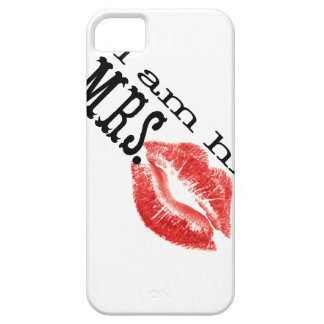 I am His Mrs. Barely There iPhone 5 Case