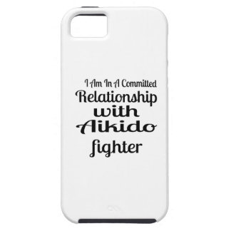 I Am In A Committed Relationship With Aikido Fight iPhone 5 Cases