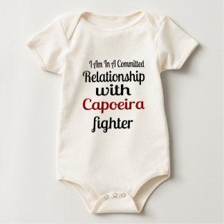 I Am In A Committed Relationship With Capoeira Fig Baby Bodysuit