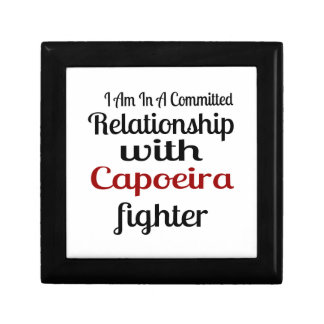 I Am In A Committed Relationship With Capoeira Fig Gift Box