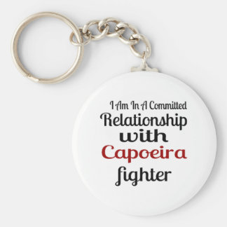 I Am In A Committed Relationship With Capoeira Fig Key Ring