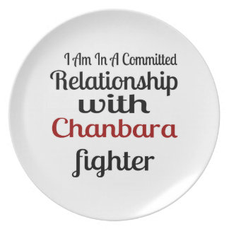 I Am In A Committed Relationship With Chanbara Fig Plate