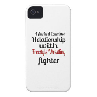 I Am In A Committed Relationship With Freestyle Wr Case-Mate iPhone 4 Cases