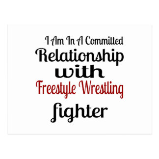 I Am In A Committed Relationship With Freestyle Wr Postcard