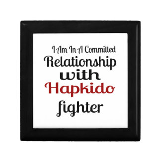 I Am In A Committed Relationship With Hapkido Figh Gift Box