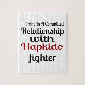 I Am In A Committed Relationship With Hapkido Figh Jigsaw Puzzle