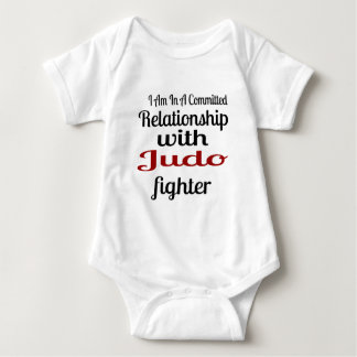 I Am In A Committed Relationship With Judo Fighter Baby Bodysuit
