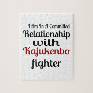 I Am In A Committed Relationship With Kajukenbo Fi Jigsaw Puzzle