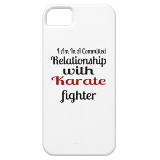 I Am In A Committed Relationship With Karate Fight iPhone 5 Covers
