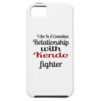 I Am In A Committed Relationship With Kendo Fighte iPhone 5 Cover