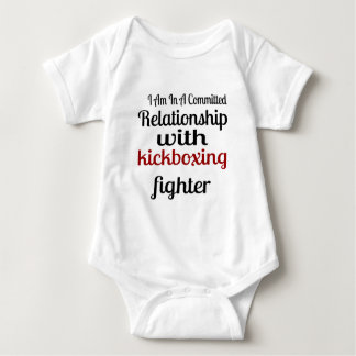 I Am In A Committed Relationship With kickboxing F Baby Bodysuit