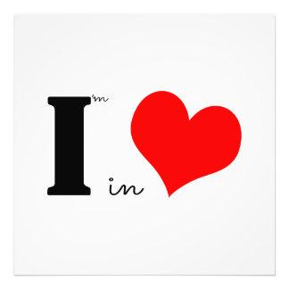 I Am In Love Photo Print