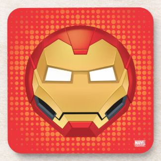 """I Am Iron Man"" Emoji Coaster"