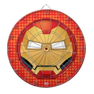 """I Am Iron Man"" Emoji Dartboard"