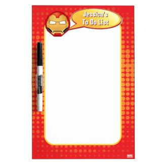 """""""I Am Iron Man"""" Emoji Dry Erase Board"""