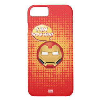 """I Am Iron Man"" Emoji iPhone 8/7 Case"