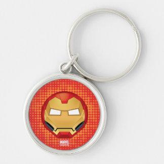 """""""I Am Iron Man"""" Emoji Key Ring"""