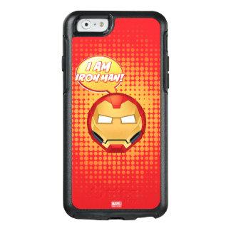 """I Am Iron Man"" Emoji OtterBox iPhone 6/6s Case"