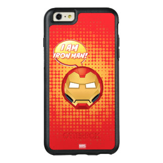 """I Am Iron Man"" Emoji OtterBox iPhone 6/6s Plus Case"