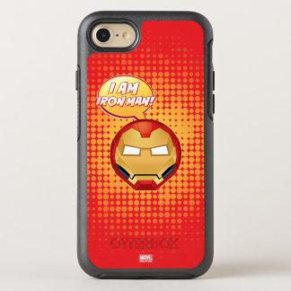 """I Am Iron Man"" Emoji OtterBox Symmetry iPhone 8/7 Case"
